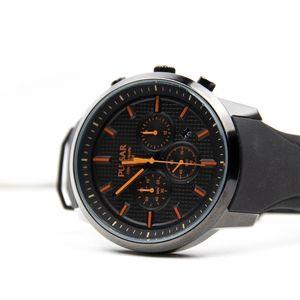 Pulsar Men's Chronograph Black Dial